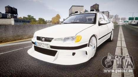Peugeot 406 Taxi [Final] für GTA 4