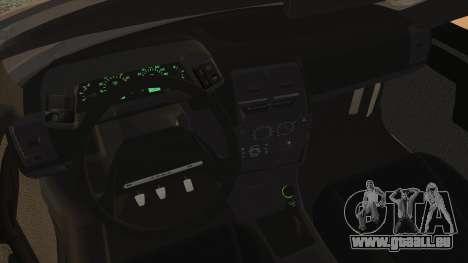 Lada 2112 für GTA San Andreas zurück linke Ansicht