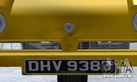 Reliant Supervan Only Fools and Horses pour GTA San Andreas