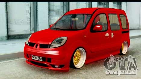 Renault Kangoo pour GTA San Andreas
