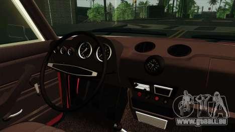 VAZ Lada 2106 v2 pour GTA San Andreas vue arrière