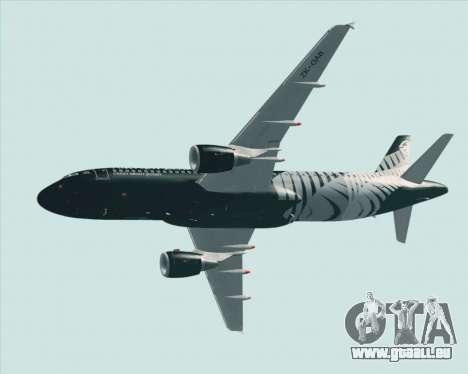 Airbus A320-200 Air New Zealand für GTA San Andreas Räder