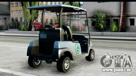 GTA 5 Caddy v2 für GTA San Andreas linke Ansicht