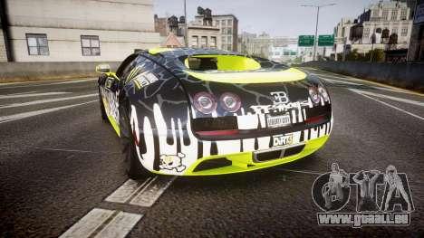 Bugatti Veyron Super Sport 2011 [EPM] Ken Block für GTA 4 hinten links Ansicht