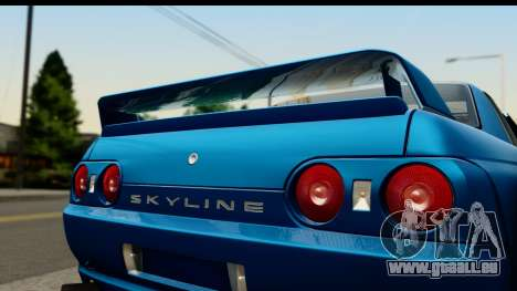 Nissan Skyline R32 Targa für GTA San Andreas zurück linke Ansicht