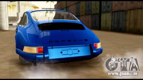 Porsche 911 Carrera 2.7RS Coupe 1973 Tunable für GTA San Andreas Räder
