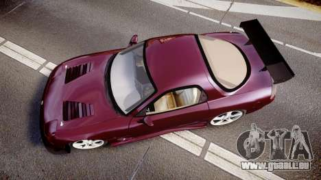Mazda RX-7 Custom pour GTA 4 est un droit