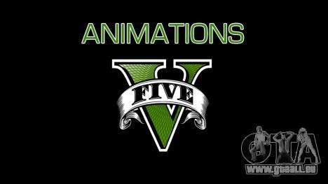 Animations GTA V pour GTA San Andreas