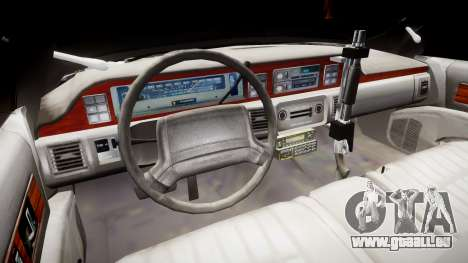 Chevrolet Caprice 1990 LCPD [ELS] Traffic für GTA 4 Rückansicht