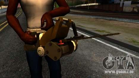New Chainsaw für GTA San Andreas dritten Screenshot