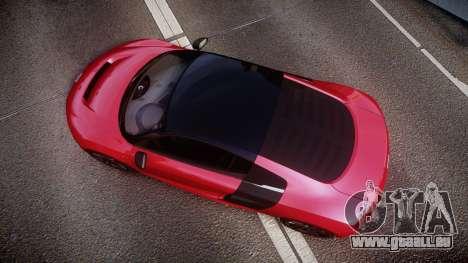 Audi R8 E-Tron 2014 dual tone für GTA 4 rechte Ansicht