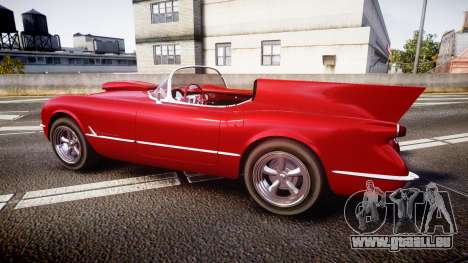 Chevrolet Corvette C1 1953 race für GTA 4 linke Ansicht