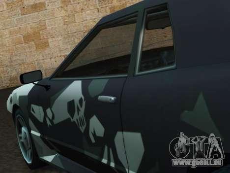 Elegy Korch pour GTA San Andreas vue de droite