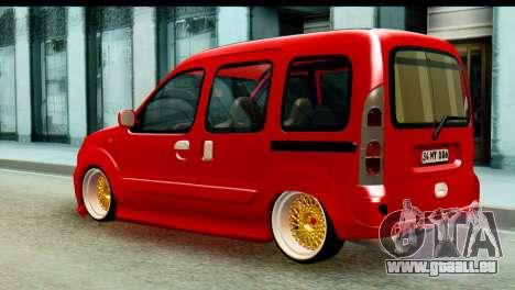 Renault Kangoo pour GTA San Andreas laissé vue