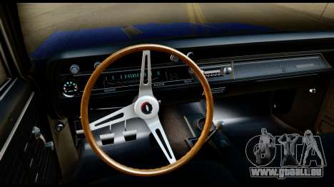 Chevrolet Chevelle SS 396 L78 Hardtop Coupe 1967 für GTA San Andreas Innenansicht