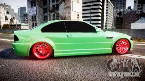BMW M3 E46 Green Editon für GTA 4 linke Ansicht