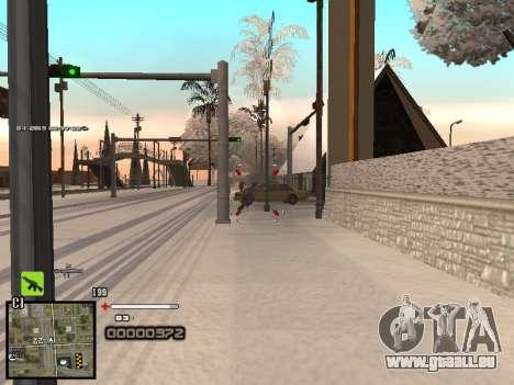 Ein einfaches C-HUD für GTA San Andreas fünften Screenshot