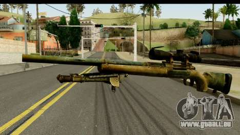 M24 from Sniper Ghost Warrior 2 pour GTA San Andreas