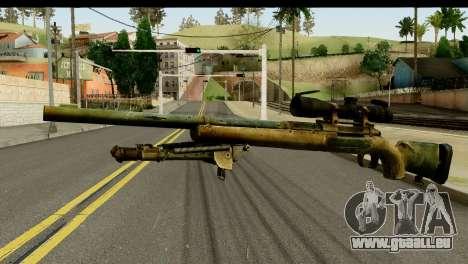 M24 from Sniper Ghost Warrior 2 für GTA San Andreas