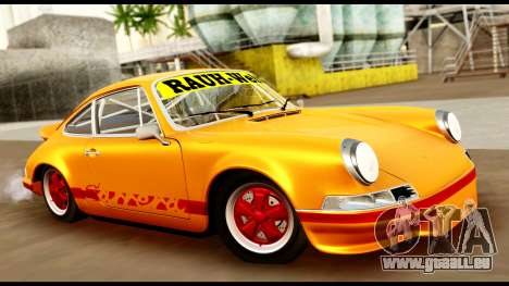 Porsche 911 Carrera 2.7RS Coupe 1973 Tunable für GTA San Andreas