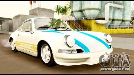 Porsche 911 Carrera 2.7RS Coupe 1973 Tunable pour GTA San Andreas vue de côté