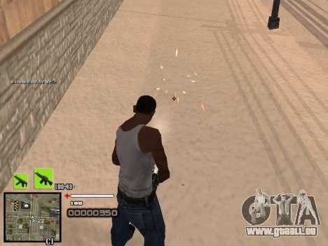 Un simple C-PALETTE pour GTA San Andreas deuxième écran