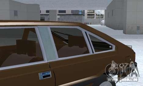 FSO Polonez 2.0X Coupe pour GTA San Andreas vue de dessous