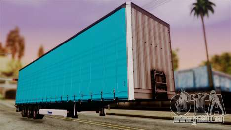 Volvo FH12 Low Deck Trailer pour GTA San Andreas
