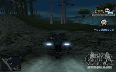 C-HUD SWAG Killerz für GTA San Andreas achten Screenshot