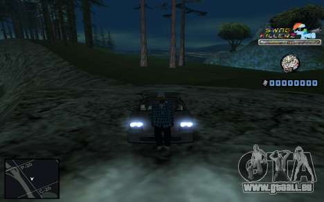 C-HUD SWAG Killerz pour GTA San Andreas huitième écran