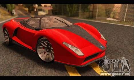 Grotti Cheetah v3 (GTA V) für GTA San Andreas