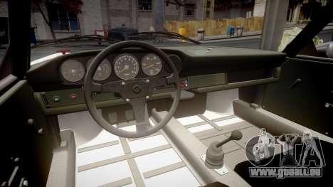 Porsche 911 Carrera RSR 3.0 1974 für GTA 4 Innenansicht