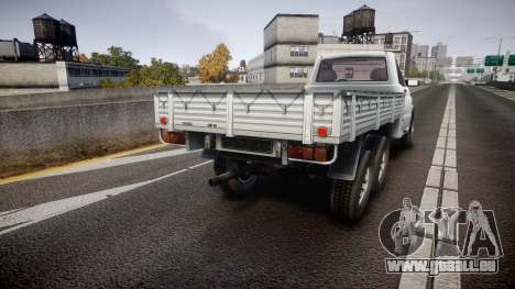 UAZ 2360 6x6 für GTA 4 hinten links Ansicht