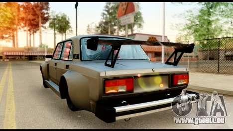VAZ 2105 Sport für GTA San Andreas zurück linke Ansicht