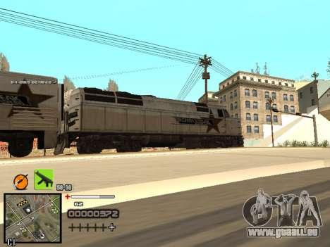 Ein einfaches C-HUD für GTA San Andreas sechsten Screenshot