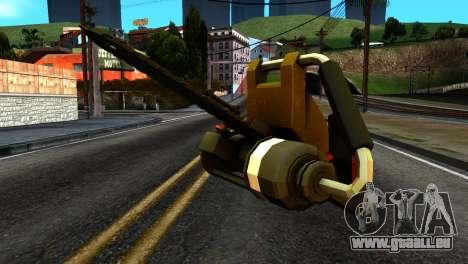 New Chainsaw für GTA San Andreas