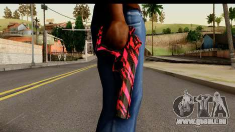 Red Tiger Desert Eagle für GTA San Andreas dritten Screenshot