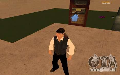 Nouvelle animation par Ozlonshok pour GTA San Andreas troisième écran