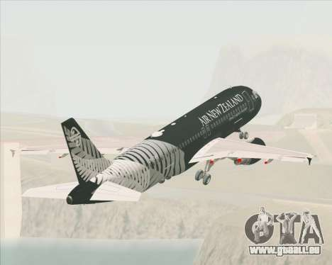 Airbus A320-200 Air New Zealand für GTA San Andreas