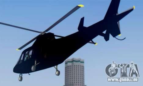 Swift GTA 5 für GTA San Andreas zurück linke Ansicht