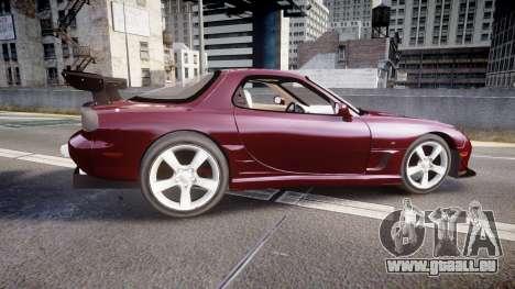 Mazda RX-7 Custom pour GTA 4 est une gauche
