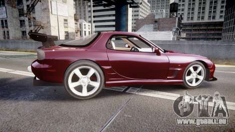 Mazda RX-7 Custom für GTA 4 linke Ansicht