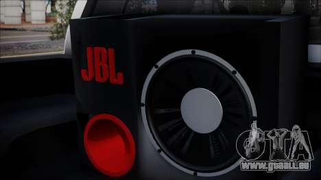 Mitsubishi Triton pour GTA San Andreas sur la vue arrière gauche