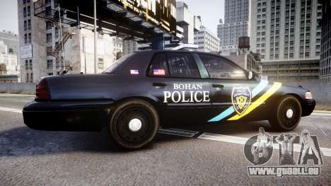 Ford Crown Victoria Sheriff Bohan [ELS] für GTA 4 linke Ansicht
