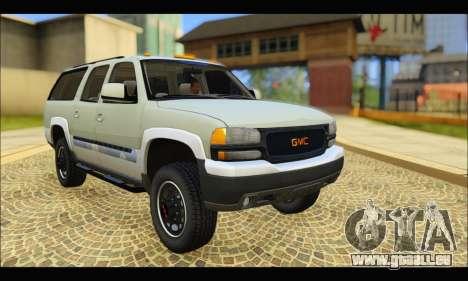 GMC Yukon XL 2003 v.2 pour GTA San Andreas