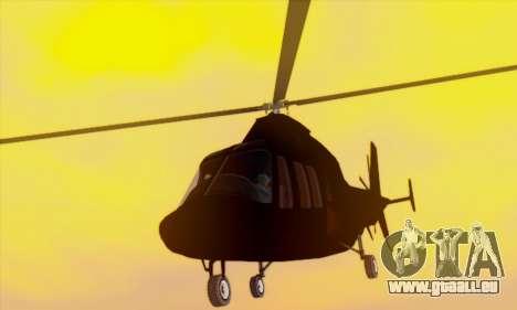 Swift GTA 5 pour GTA San Andreas vue de dessus