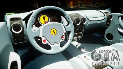 Ferrari F430 2004 pour GTA 4 est une vue de l'intérieur