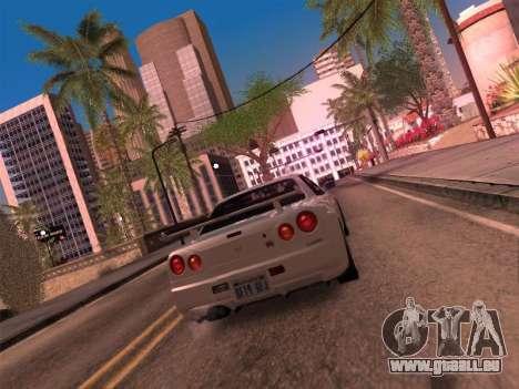 Los Santos MG19 ENB pour GTA San Andreas troisième écran