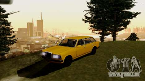 Brand new transport und Einkauf für GTA San Andreas zweiten Screenshot