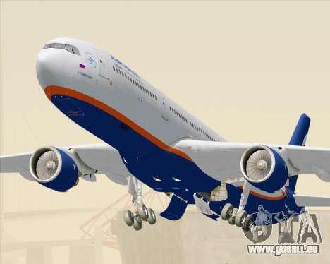 Airbus A330-300 Aeroflot - Russian Airlines für GTA San Andreas zurück linke Ansicht